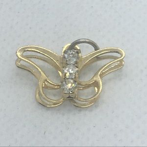 4 for $12: Butterfly Gold Tone Necklace pendant